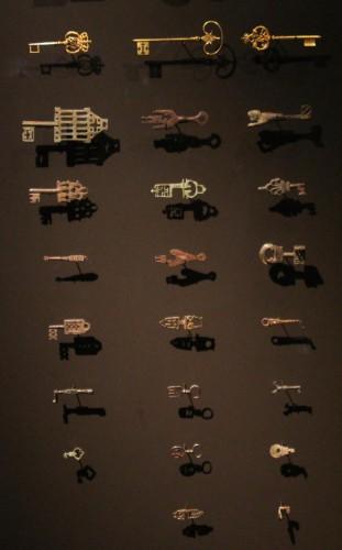 sleutel sleutel en nog een sleutel in het Rijksmuseum